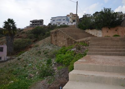 Treppe in Moulay Bousselham
