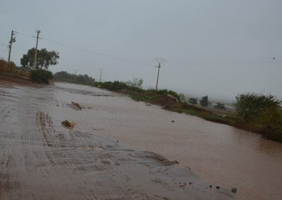 Strasse bei Moulay Bousselham