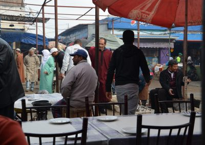 Souk in Moulay Bousselham